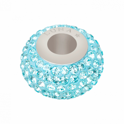 0029DE10 Beads light Turquoise 263 poliert poliert